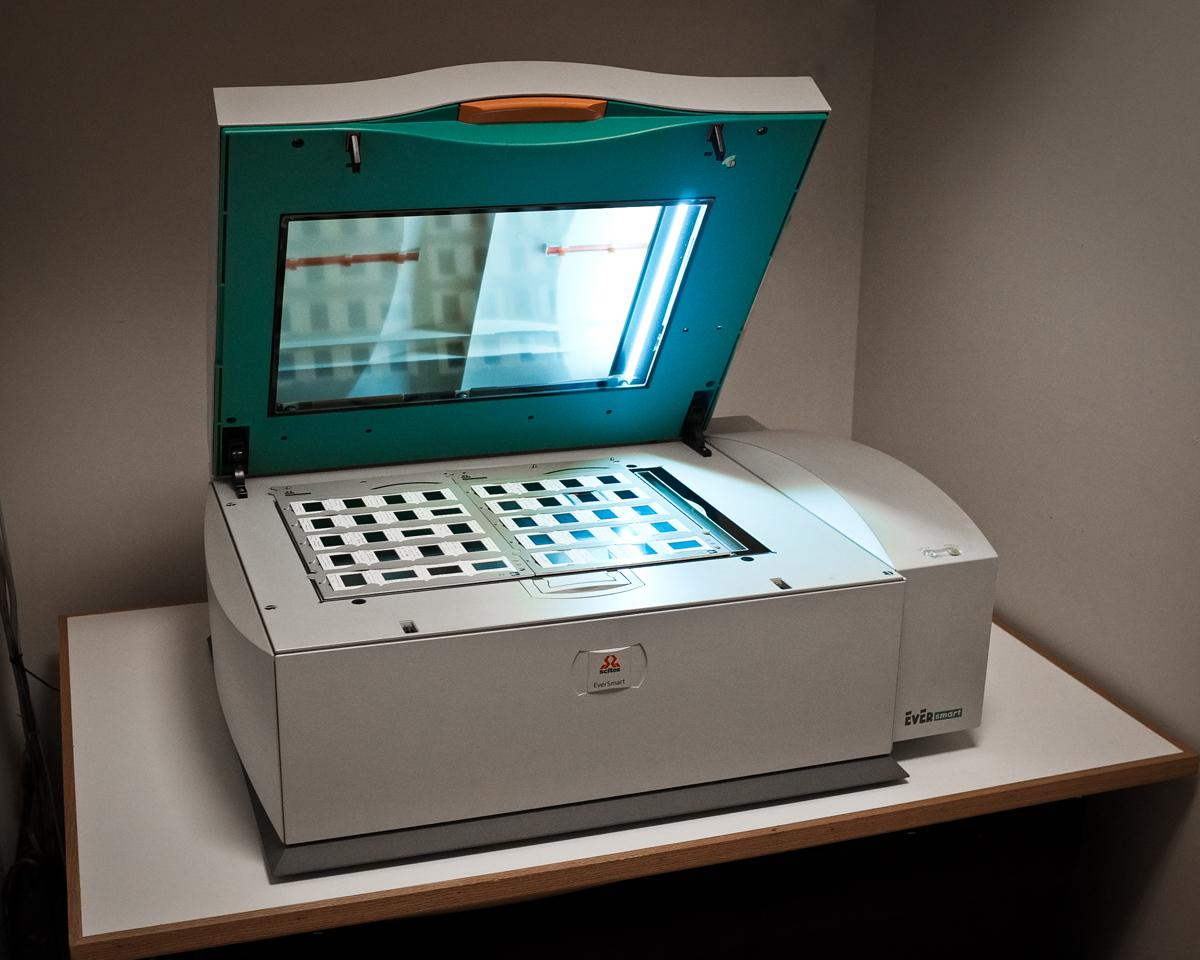 Scitex Eversmart Flatbed Scanner